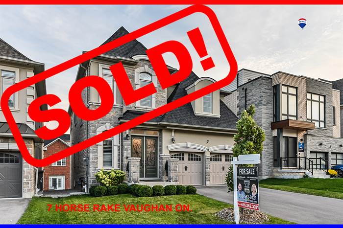 SOLD***SOLD IN 5 Days***Luxurious Unique  Dream Home In Prestigious Upper West Thornhill Estates!!!