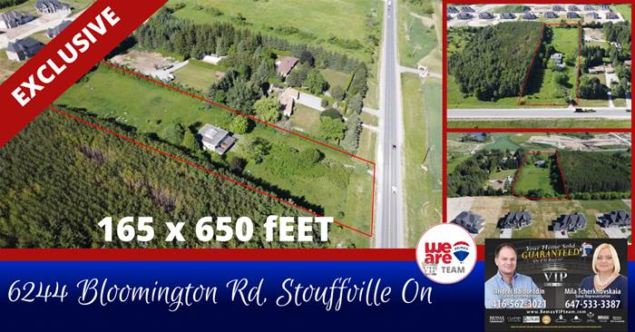 Location!Location!Location! 6244 Bloomington Rd, Whitchurch-Stouffville, Ontario