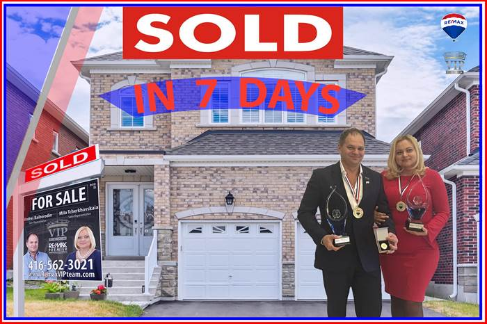***SOLD***SOLD***SOLD***63 Shallot Crt.,, Richmond Hill, Ontario
