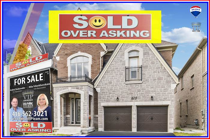 ***SOLD OVER ASKING***415 FARRELL RD., Vaughan, Ontario