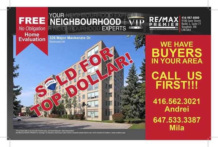 326 Major Mackenzie Dr E, 626, Richmond Hill, Ontario